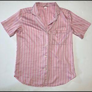 Victorias Secret Small Stripe Classic Night Shirt